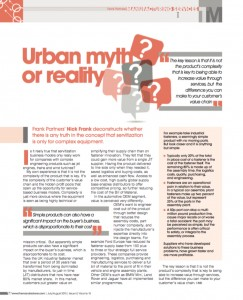 Urban myth or reality